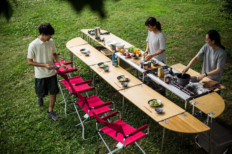 ラドビ×キャンピングオフィスOSOTO松山~出張料理